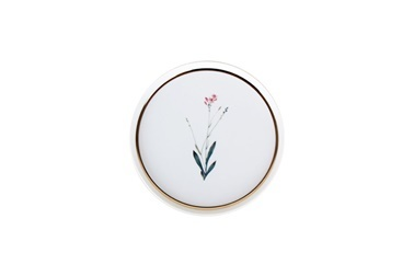Porland Botanical Desen4 Düz Tabak 18Cm Renkli